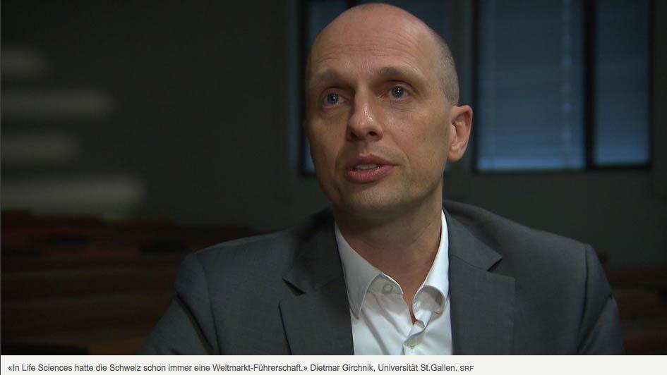 """Dietmar Grichnik als Experte in der Startup-Serie in """"10vor10"""" beim SRF"""