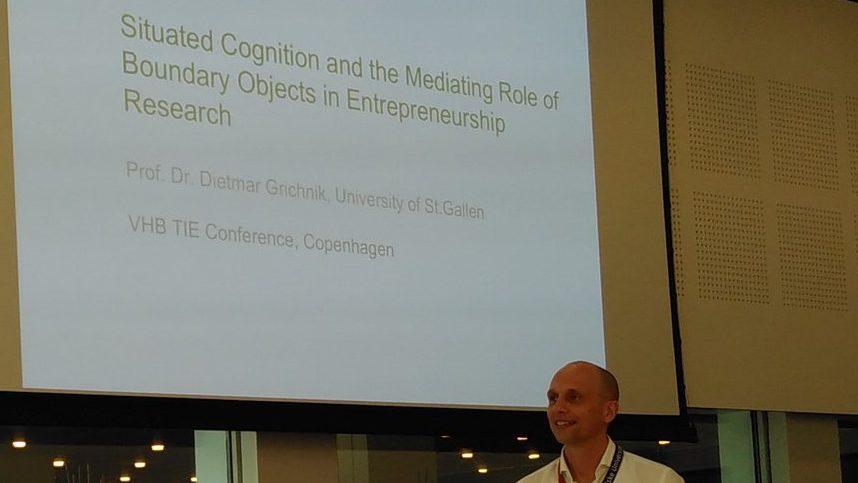 Keynote auf der VHB-TIE-Konferenz in Kopenhagen