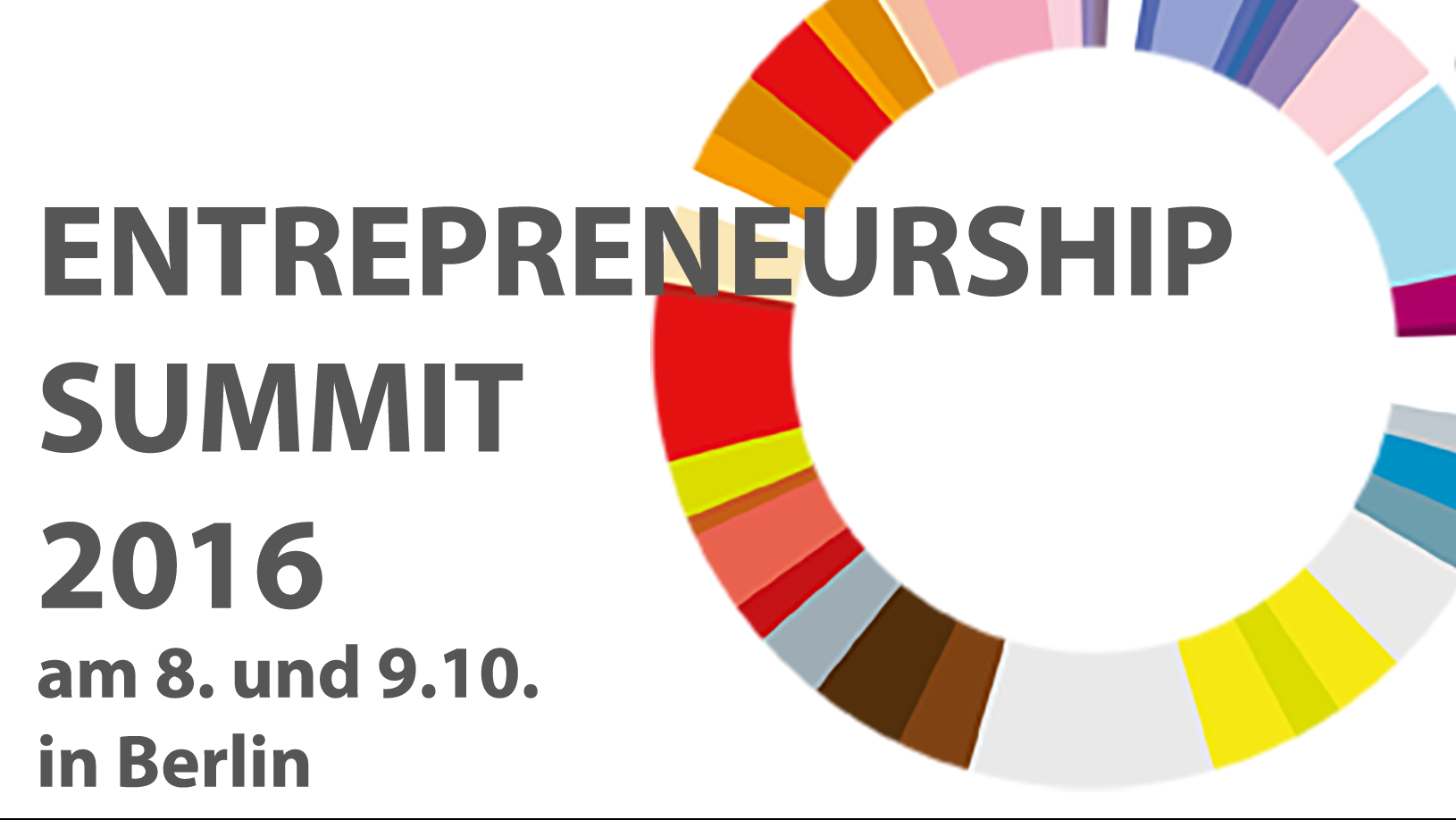 Join: Keynote beim Entrepreneurship Summit am 8. Oktober in Berlin