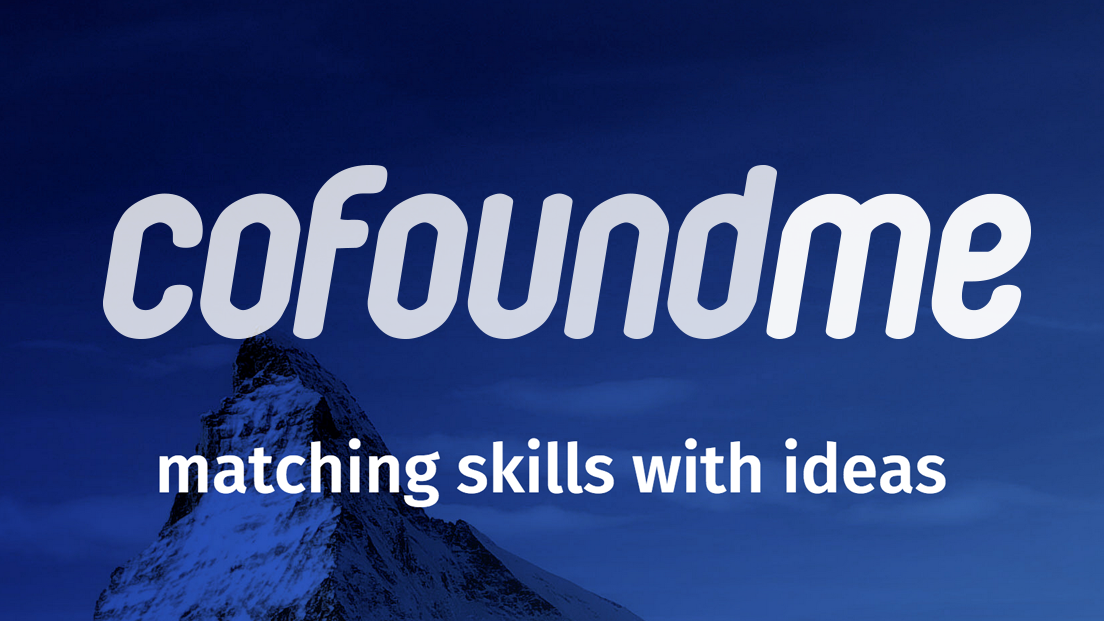 My Startup of the Month: Cofoundme